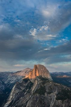 Half Dome Evening by Greg Nyquist