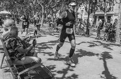 En primera linea del Ironman 2016 de Calella by jobaro