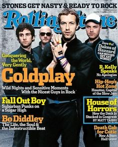 Coldplay - Rolling Stone (2005 Aug)