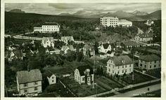 Nordland fylke NARVIK Frydenlund. For stedet meget uvanlig utsnitt mot nord Utg Narvik Bokhandel  postgått 1947