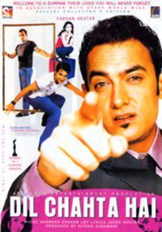 Dil Chahta Hai Hindi Movie Online - Aamir Khan, Saif Ali Khan, Akshaye Khanna and Preity Zinta. Directed by Farhan Akhtar. Music by Shankar-Ehsaan-Loy. Streaming Movies, Hd Movies, Movie Tv, Movie List, Watch Movies, Best Bollywood Movies, Tamil Movies, Bollywood Posters, Hindi Movies Online