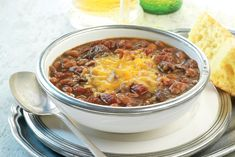 Check out this delicious recipe for Steak and Ale Chili with Beans from Weber—the world's number one authority in grilling. Bbq Beef Ribs, Ribs On Grill, How To Grill Steak, Beef Steak, Pork, Chili Recipes, Meat Recipes, Cooking Recipes, Copycat Recipes