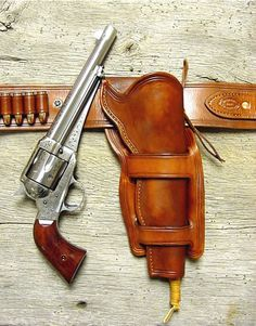 Gorgeous leather holster..