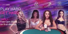Get a 200% Welcome Bonus up to €300 plus a Free WebCam Show at CamSpins casino!