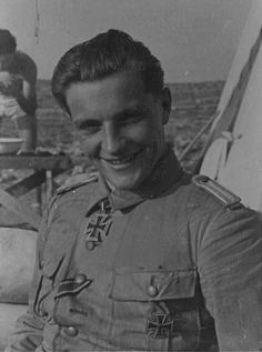 ✠ Hans-Joachim Marseille (13 December 1919 – 30 September 1942) killed in a flying accident.