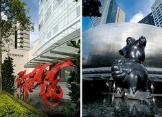 Hotel St. Regis Singapore: An exclusive experience for art lovers - Hotel St. Regis Singapore: una experiencia exclusiva para los amantes del arte #art #luxury #arte #lujo