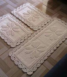 Round area rug 625 in crochet rug crochet decor doily Doily Rug, Crochet Doilies, Crochet Flower Patterns, Crochet Flowers, Rope Rug, Free Crochet, Hand Knitting, Rugs, Youtube