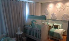 Quarto de bebê safári com painel iluminado de LED | Quarto de bebê - Decoração, bebês, gravidez e festa infantil