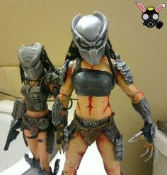 Female Predator (Predator) Custom Action Figure