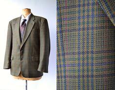 Vintage 80s Green tweed jacket by Horne Brothers / 80s / by LeonardoDaVintage