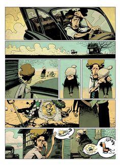 Comic test page by EnriqueFernandez.deviantart.com on @DeviantArt