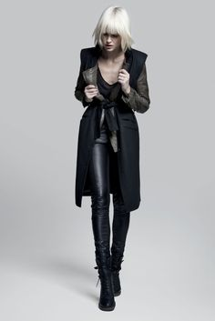 """Gertuz, Fall 2012  A brand inspired by """"backstage rock n' roll life but with a hint of elegance and sweetness"""