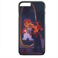 Mario In Mirror TATUM-6897 Apple Phonecase Cover For Iphone SE Case