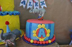"Alejandro's 1st birthday. ""Circo De Cinco"" Photography by Wild Willow Photography in Oregon"
