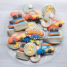 """""""@madrimahtani has 101 amazing ideas and I'll be posting my top 10 favorites  #10 Birthday cookies  Hot Wheels  Share your creations with…"""""""