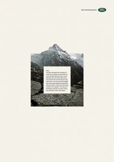 Land Rover: Mountain - Ads of the World