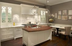 Plain & Fancy Custom Cabinetry designed by Plain & Fancy by Dandamudis Brandy Cohen #DreamDesignContest #Kitchen