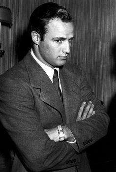 """onlybrando:  """" A Candid Of Marlon Brando Circa 1952. """""""