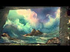 airbrush painting secrets waves and underwater video tutorials - YouTube