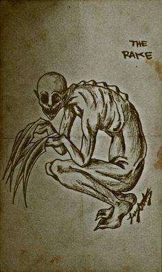 Creepypasta Old Book Pages by DerseDragon on DeviantArt Creepy Sketches, Scary Drawings, Demon Drawings, Dark Art Drawings, Creature Drawings, Art Sketches, Monster Drawing, Monster Art, Arte Horror