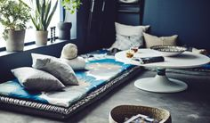 Dein Loungebereich wird noch viel persönlicher mit eigenen Matratzenbezügen aus deinem Lieblingsstoff.