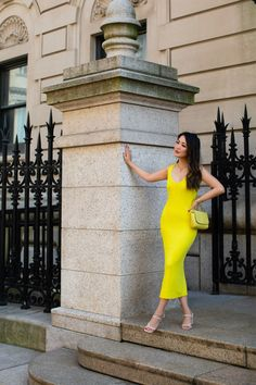 Summer Dress - Bright and Vibrant - Wendy's Lookbook Wendy's Lookbook, Knit Dress, Dress Making, Dress Outfits, Dressing, Bodycon Dress, Vibrant, Style Inspiration, Bright