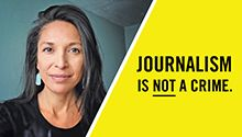 Take Action Now - Amnesty International USA  Jenni Monet, an independent journalist, was arrested at Standing Rock. Despite displaying a valid press pass, Jenni was arrested, strip-searched, held in a chain-link holding cage and detained for a total of 30 hours.   Protect press freedom today. Call for charges against Jenni to be dropped!