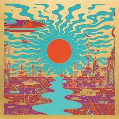 Morgan Delt Phase Zero Vinyl LP The invocation of classic west coast psychedelia that permeates Morgan Delt's Sub Pop debut LP feels like a continuous sunrise Photo Wall Collage, Picture Wall, Collage Art, Posca Art, Plakat Design, Drawn Art, Hippie Art, Poster Prints, Art Prints