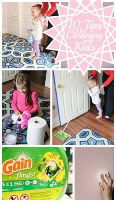 Teaching kids how to help out with cleaning remodelaholic.com #cleaning #kids