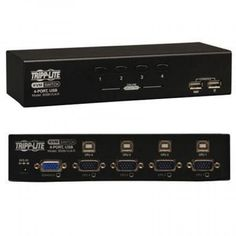 4 Port USB KVM Switch