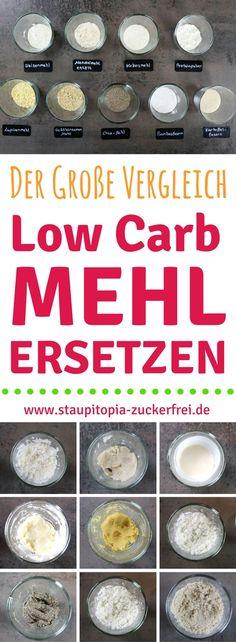 Low Carb Mehl ersetzen? Der Low Carb Mehl-Vergleich mit Tipps für das Low Carb Backen ohne Zucker! Du möchtest ohne Kohlenhydrate Backen und ein Low Carb Mehl ersetzen? Ich habe verschiedene Low Carb Mehle, die du zum Backen verwenden kannst für dich verglichen! Was ist der Unterschied zwischen verschiedenen Low Carb Mehlen und was musst du beim Ersetzen beachten?