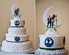A Wedding With Both Trek And Wars