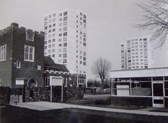 Balmoral, Milton Hall Junior School, the flats where my friend Marilyn lived in the 1970's