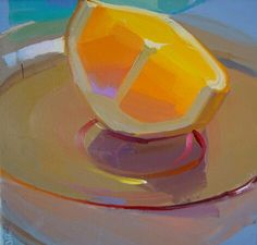 Juice Tank - human-cliches:   Paintings of oranges by...