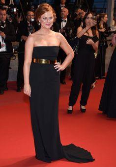 Amy Poehler portait une robe Stella McCartney - J6