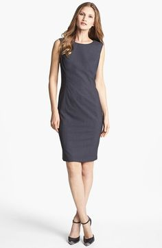 Jones New York 'Mallory' All Season Stretch Sheath Dress available at #Nordstrom with yellow flowers?