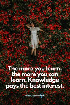 The more you learn, the more you can learn. Knowledge pays the best interest. #learningquotes #knowledge #bestinterest #inspirationalquotes #startup #learnmore #motivational #hustlequotes #studyquotes #richlife #successmentor #inspiringquote #homebasedbusiness #quoteoftheday #inspiring #selfimprovement #selfdevelopment Hustle Quotes, Study Quotes, Learning Quotes, Rich Life, Home Based Business, Self Development, Success Quotes, Self Improvement, Motivationalquotes