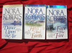 The Three Sisters Island Trilogy... Best Nora Roberts books I ever read :)