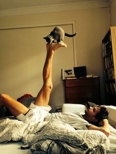 cuteboyswithcats:  submission from cara