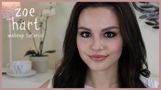 Zoe Hart Makeup Tutorial ft. Smashbox Double Exposure Palette | GlowofGrace
