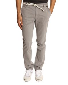 Charlie Chinos with Grey Cord Belt ELEVEN PARIS