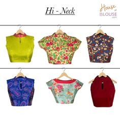 Our customer creations truly delight us! Check out these trendy Hi-neck blouses created by various cool customers. Go ahead and give our 'STYLE CREATOR' a whirl - combine in ways you can only imagine :) Get inspired and create you own at http://ift.tt/2juaDcH #customercreation #hineck #creations #trendy #blouse #customise #customdesign #love #houseofblousedotcom