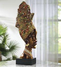 African Tribal Head from Midnight Velvet®