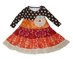 Prepare for the #First_Day_of_School - Peaches N Cream Little Girls' Boho Tiered Crocheted Lace #Shabby_Chic Dress  Price : $69.99  Visit www.WebbDirect2u.com for Boutique Back to School Designs  #Webb_Direct_2U #Back_to_School #Dresses_for_Little_Girls  #Kids_Clothes