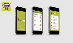 OUR FOOD UI APP Places To Visit, App, Food, Essen, Apps, Meals, Yemek, Eten