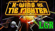 LGR - Star Wars X-Wing vs. TIE Fighter - PC Sport Overview