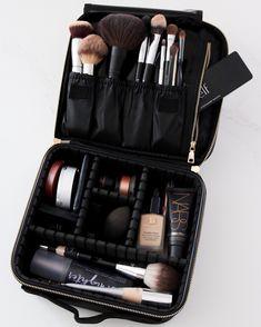 Travel Makeup bag Top Five from March – Lauren Loves Makeup Travel Case, Makeup Case, Makeup Kit, Diy Makeup, Beauty Makeup, Clown Makeup, Makeup Ideas, Hair Beauty, Makeup Brush Cleaner