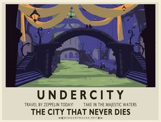 """More like """"Undercity... The city where you never know where you're going!"""" har har ;) #WoW"""