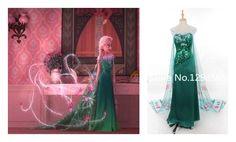 >> Click to Buy << Handmade Dress Princess Elsa Dress Fancy Summer Dress Adult Women Halloween Cosplay Costume Custom Made #Affiliate