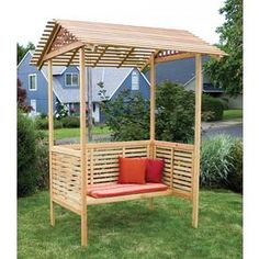 Garden Architecture Summer Haven Arbor    Lowes